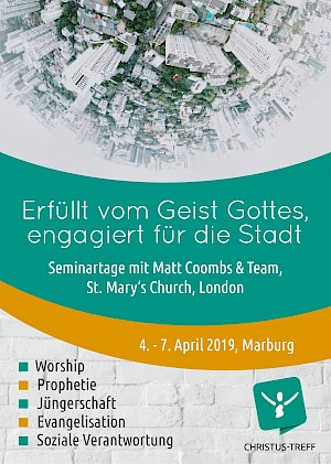 Flyer Seminartage mit Matt Coombs & Team
